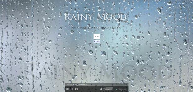 rainny mood